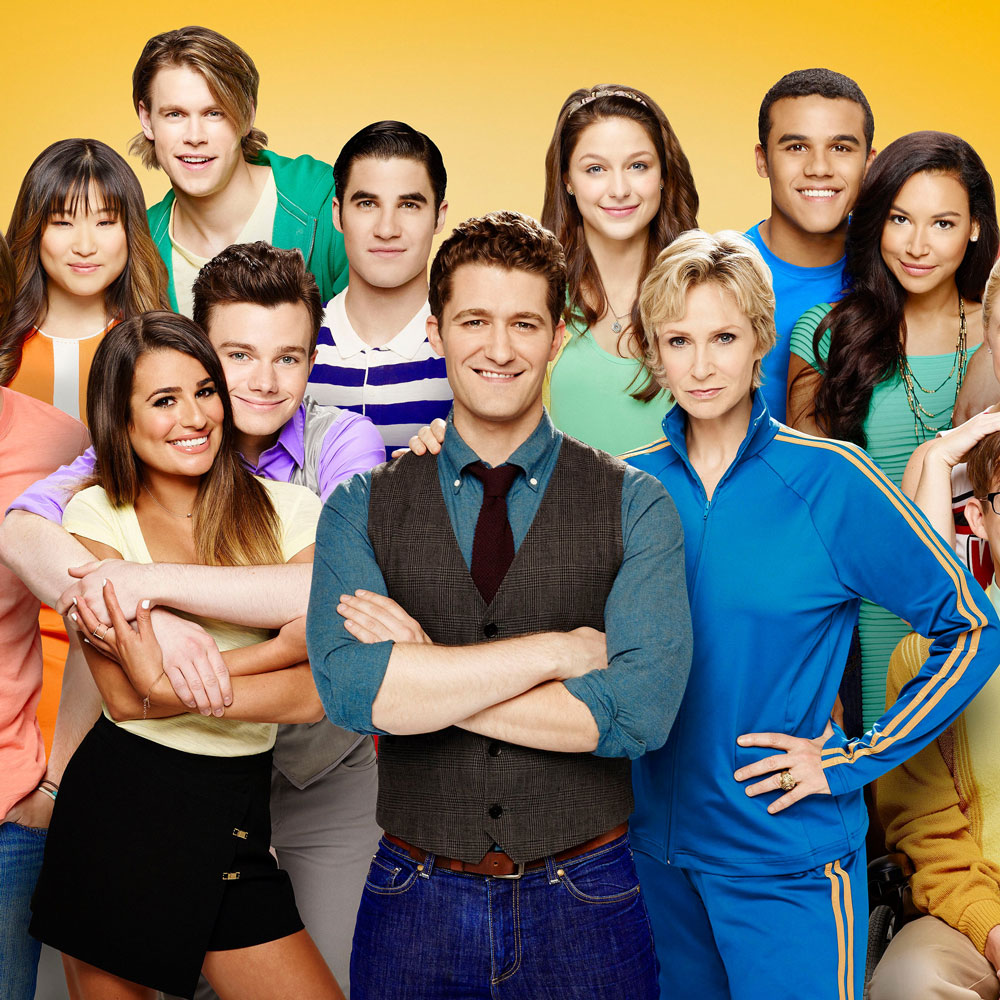 Glee Cast Billboard Social 50